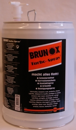 Brunox Turbo-Spray 20 liter
